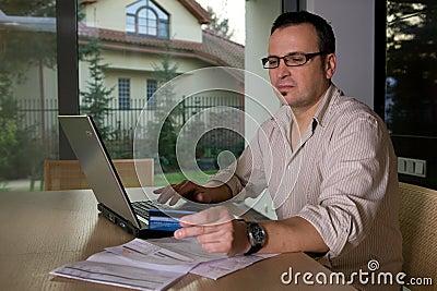 Settlement bills online using credit card