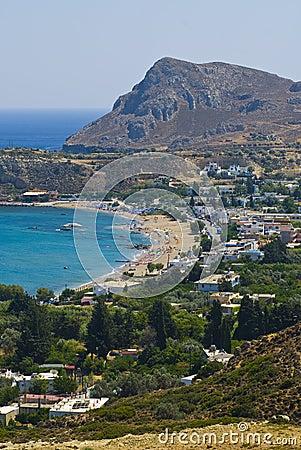 Settlement near beach