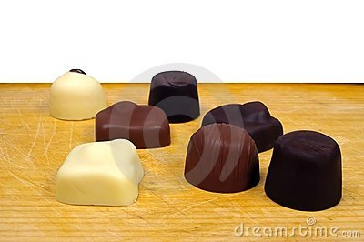 Seven chocolates