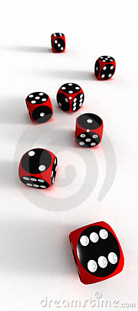 Seven dices - your risc