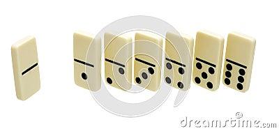 Seven domino s dice
