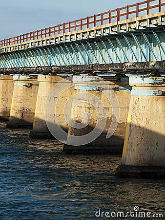 Free Seven Mile Bridge Stock Photography - 23301862