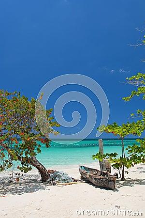 Free Seven Miles Beach, Negril, Jamaica Stock Photos - 6070393