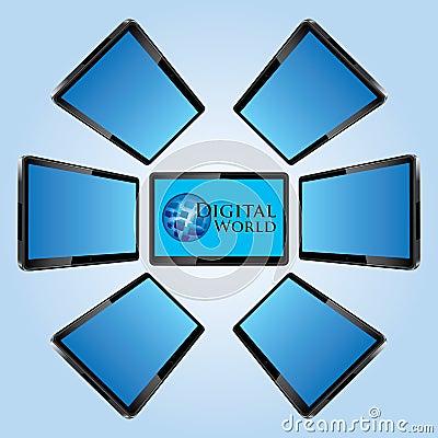 Seven modern lcd screens