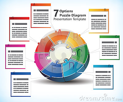 Seven sided presentation template