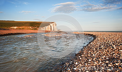 Seven Sisters Cliffs South Downs England landscape