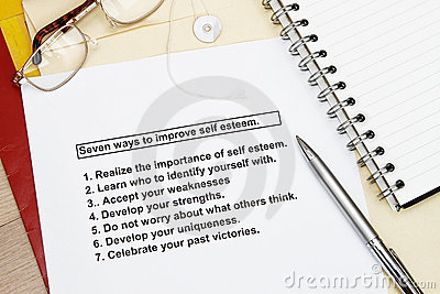 Seven ways to improve Self esteem