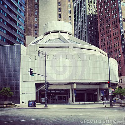 Seventeenth Church of Christ, Scientist Editorial Photography