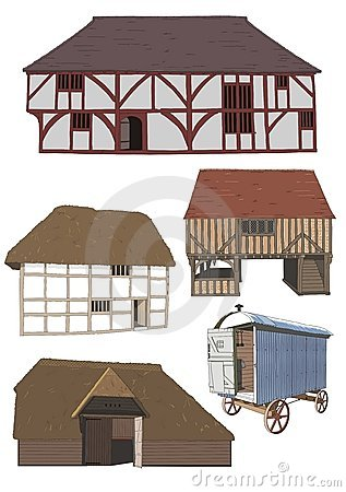 Seventeenth and eighteenth century dwellings
