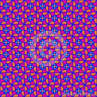 Seventies geometric