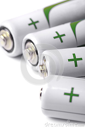 Free Several AA Batteries Closeup View Stock Photos - 28463033