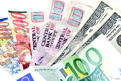 Several countries currencies (focus on dollars)