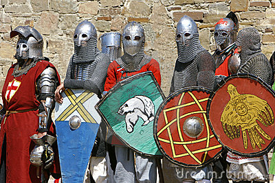 Several knights