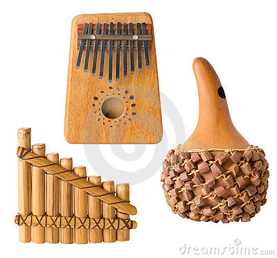 Several Musical Instruments, Isolated