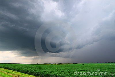 Severe Thunderstorm in Miwest USA