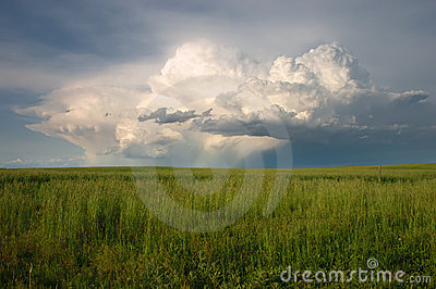 Severe Thunderstorm on the plains