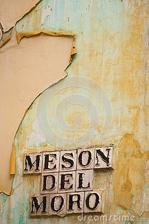 Free Seville, Andalusia, Spain - Detail In Street Building Called Stock Photos - 108323713