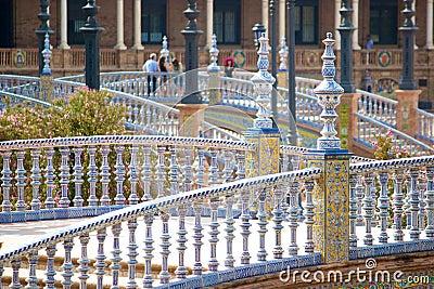 Seville, plaza de espana, Spain