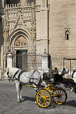 Seville - Tourist horse carriage