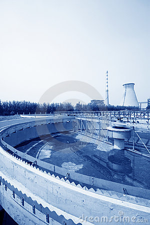 Sewage treatment works building facilities