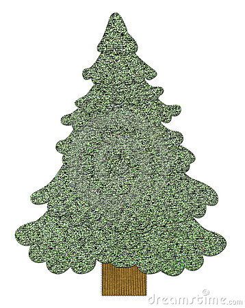 Sewed Christmas tree