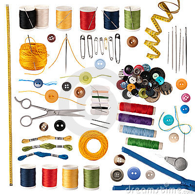 Free Sewing Accessories Royalty Free Stock Images - 21580019