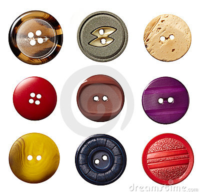 Sewing button clothing