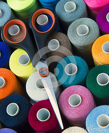 Free Sewing Cotton And Accessory Stock Photo - 28203290