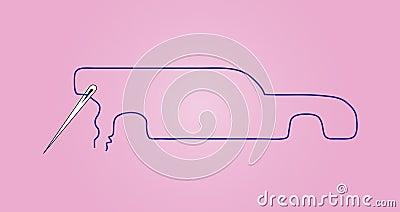 Sewing dream car