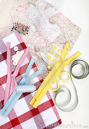 Free Sewing Items Stock Photo - 12403600