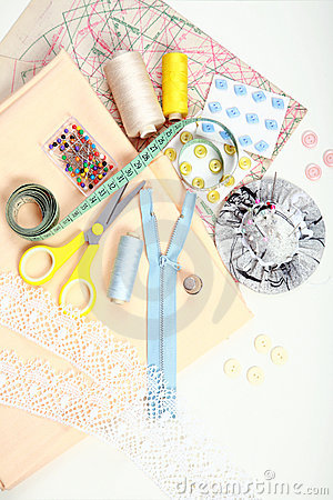 Free Sewing Items Stock Photo - 12569110