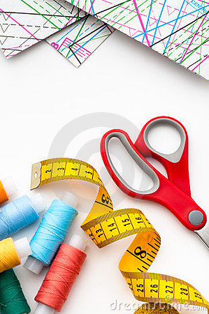 Free Sewing Items Stock Image - 24233091