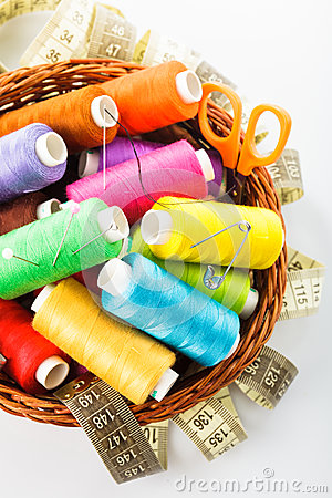 Free Sewing Items Royalty Free Stock Photo - 25661135