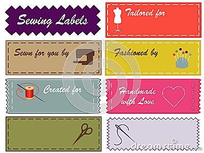 Sewing Labels, Pantone Colors