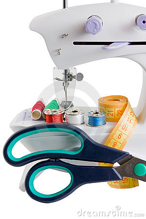 Sewing machine and needle things