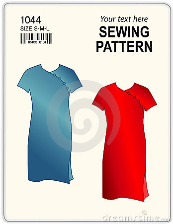 Sewing Pattern, Dresses