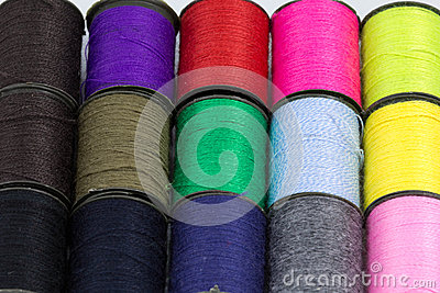 Sewing thread.