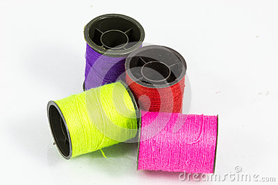 Sewing thread colors.