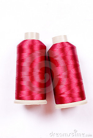 Free Sewing Thread Pattern Stock Photography - 5649952