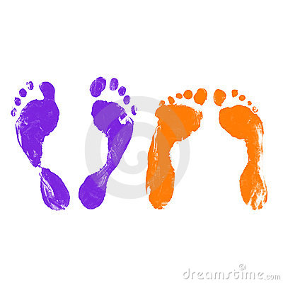 After Sex Footprints