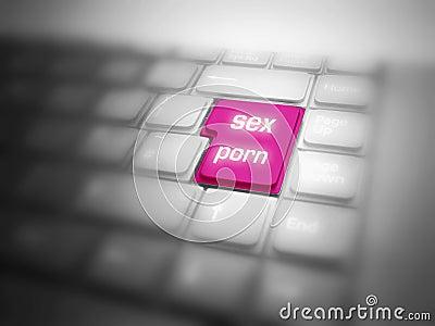 SEX PORN button