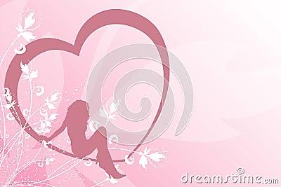 Sexig kvinnlighjärta