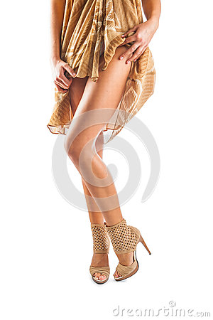A sexsual female legs