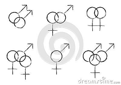 Sexual Identity Symbols