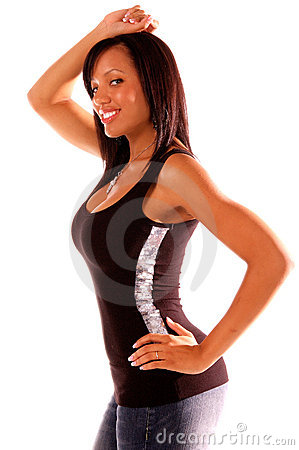 Free Sexy African American Woman Royalty Free Stock Photography - 261287