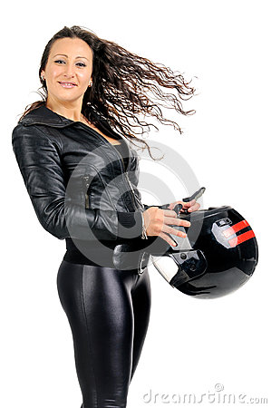 Sexy biker