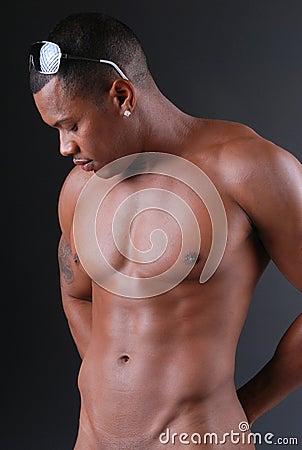 Sexy Black man.