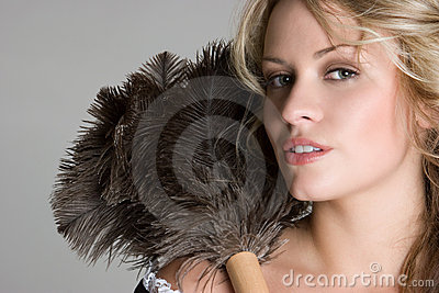 Sexy Blond French Maid Stock Images Image 8515754