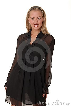 Free Sexy Blond Girl 503 Royalty Free Stock Photo - 1820125