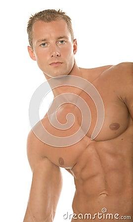 Sexy body builder